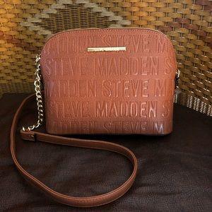 Steve Madden • Cognac Leather Crossbody